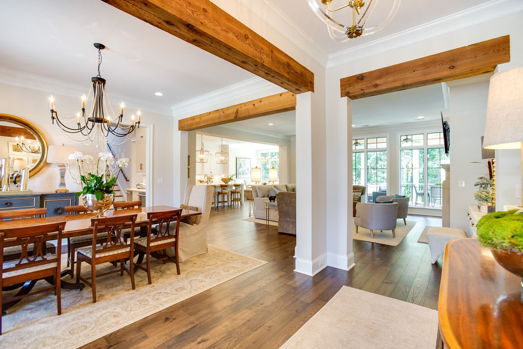southern home design entry way