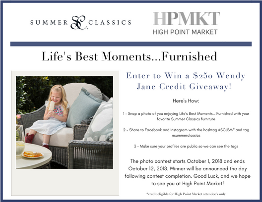 Life's Best Moments...Furnished High Point Campaign