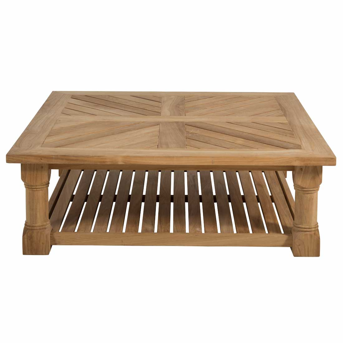 Lakes 48 Square Coffee Table Summer Clics