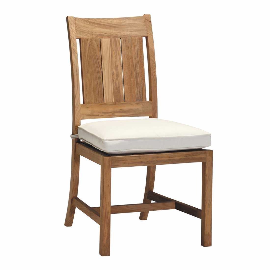 Croquet Club Teak Side Chair
