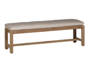 Club Teak Backless Bench