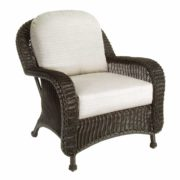 Classic Wicker Lounge Chair