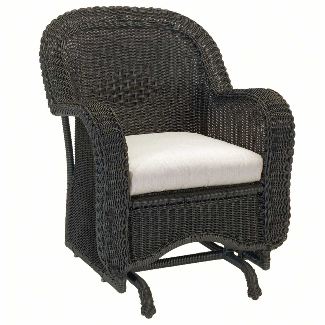 Ordinaire Classic Wicker Single Glider