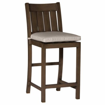 "24"" Club Aluminum Bar Stool"