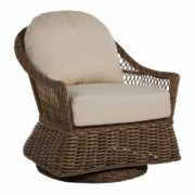 Soho Wicker Swivel Glider