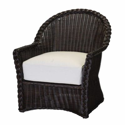 Sedona Wicker Chaise Lounge Chair
