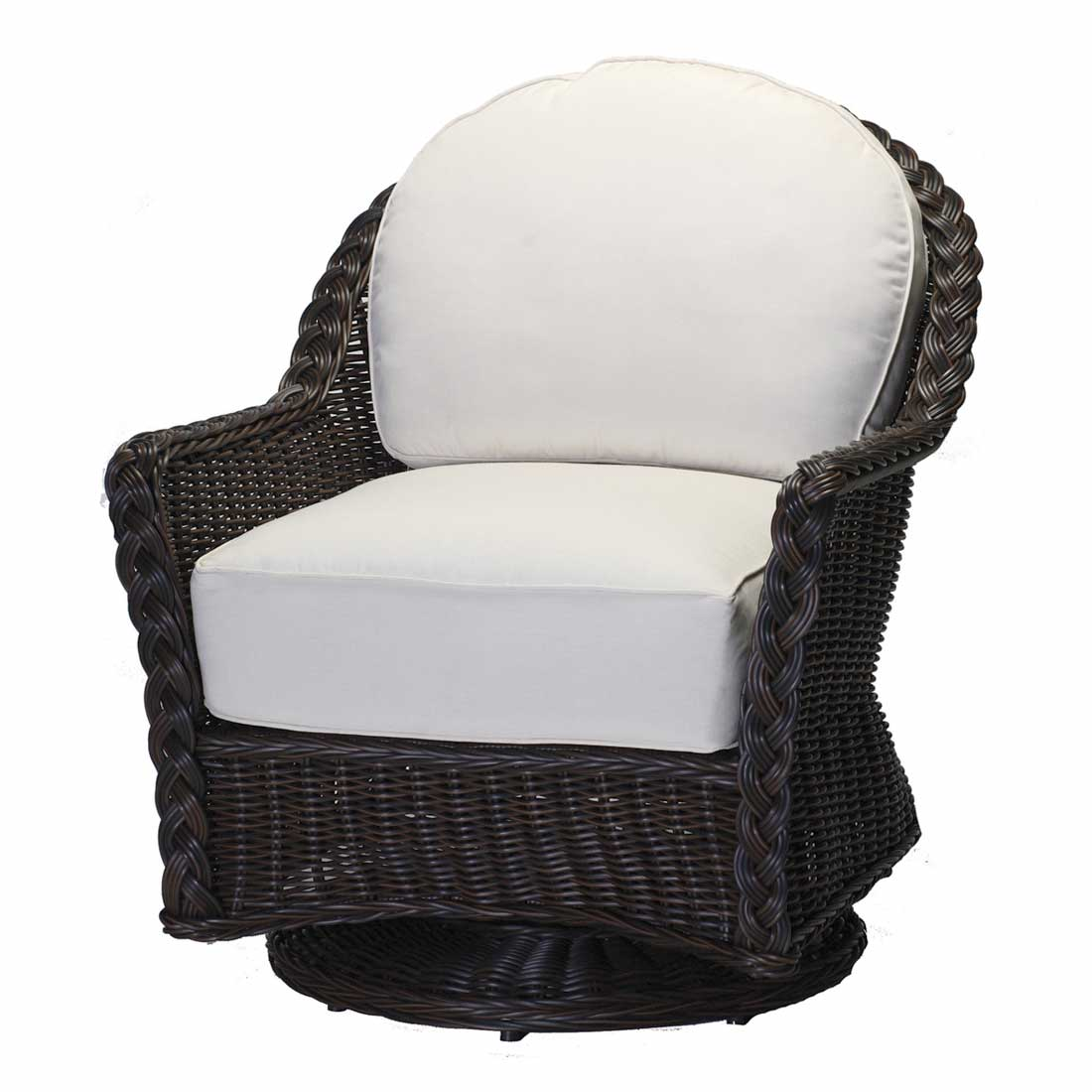 sedona large outdoor swivel glider