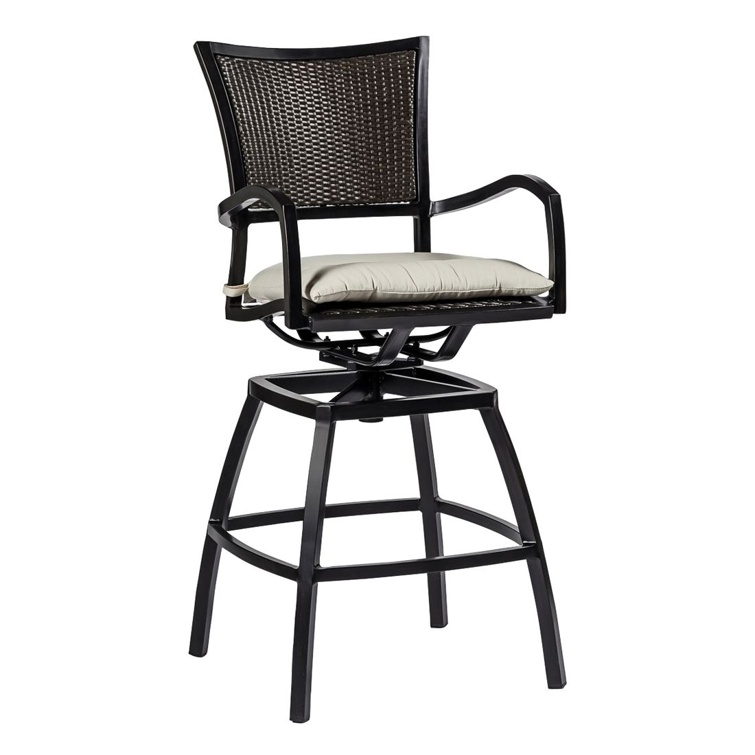 Aire Swivel Barstool Outdoor Furniture Bar Stools