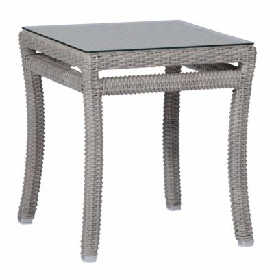Club Woven End Table