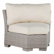Club Woven Inside Round Corner Chair