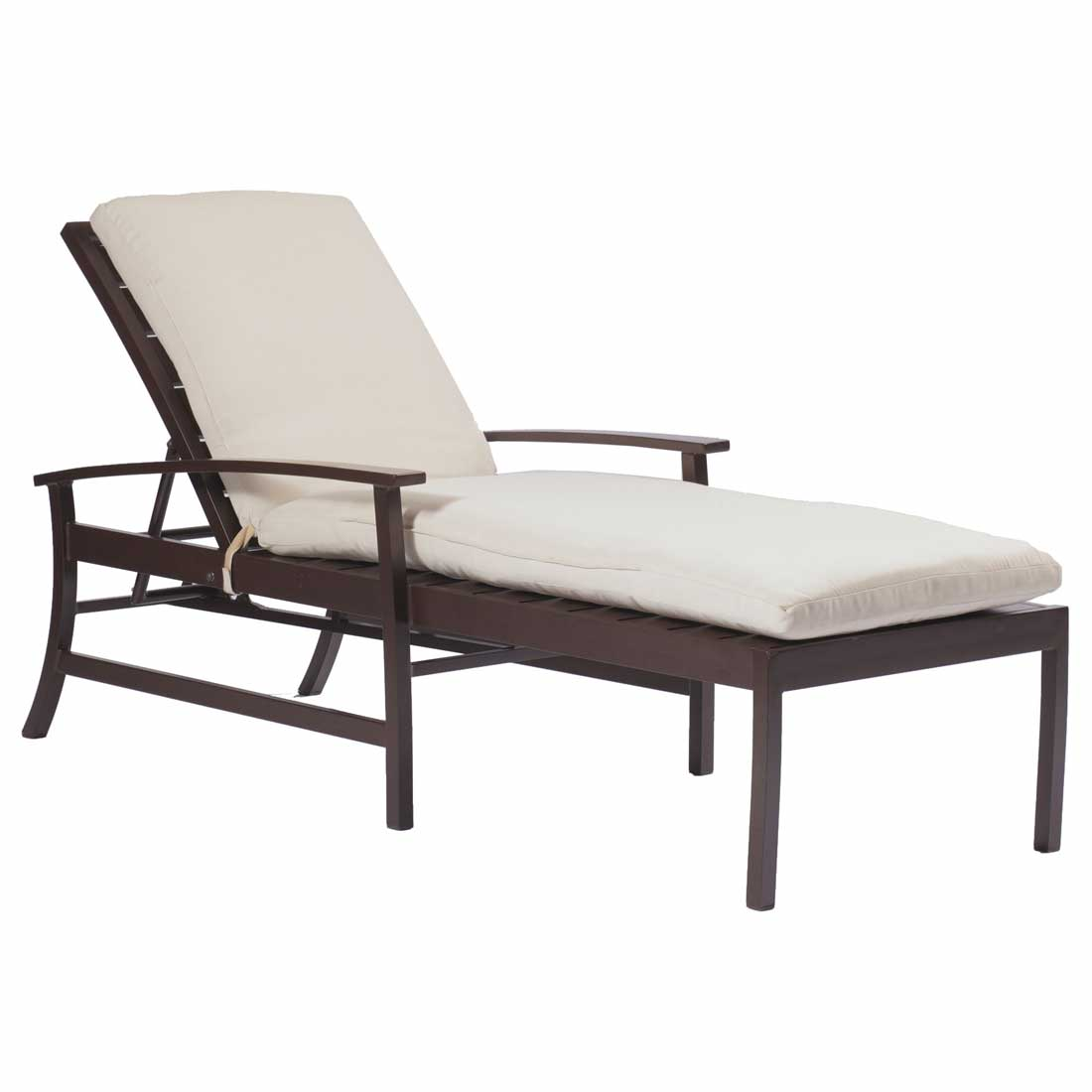 Charleston patio chaise lounge chairs for Chaise lounge bench