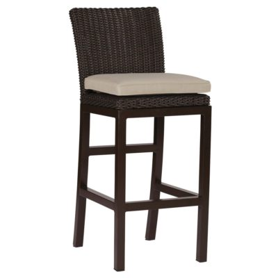 Rustic 30 Quot Wicker Bar Stools