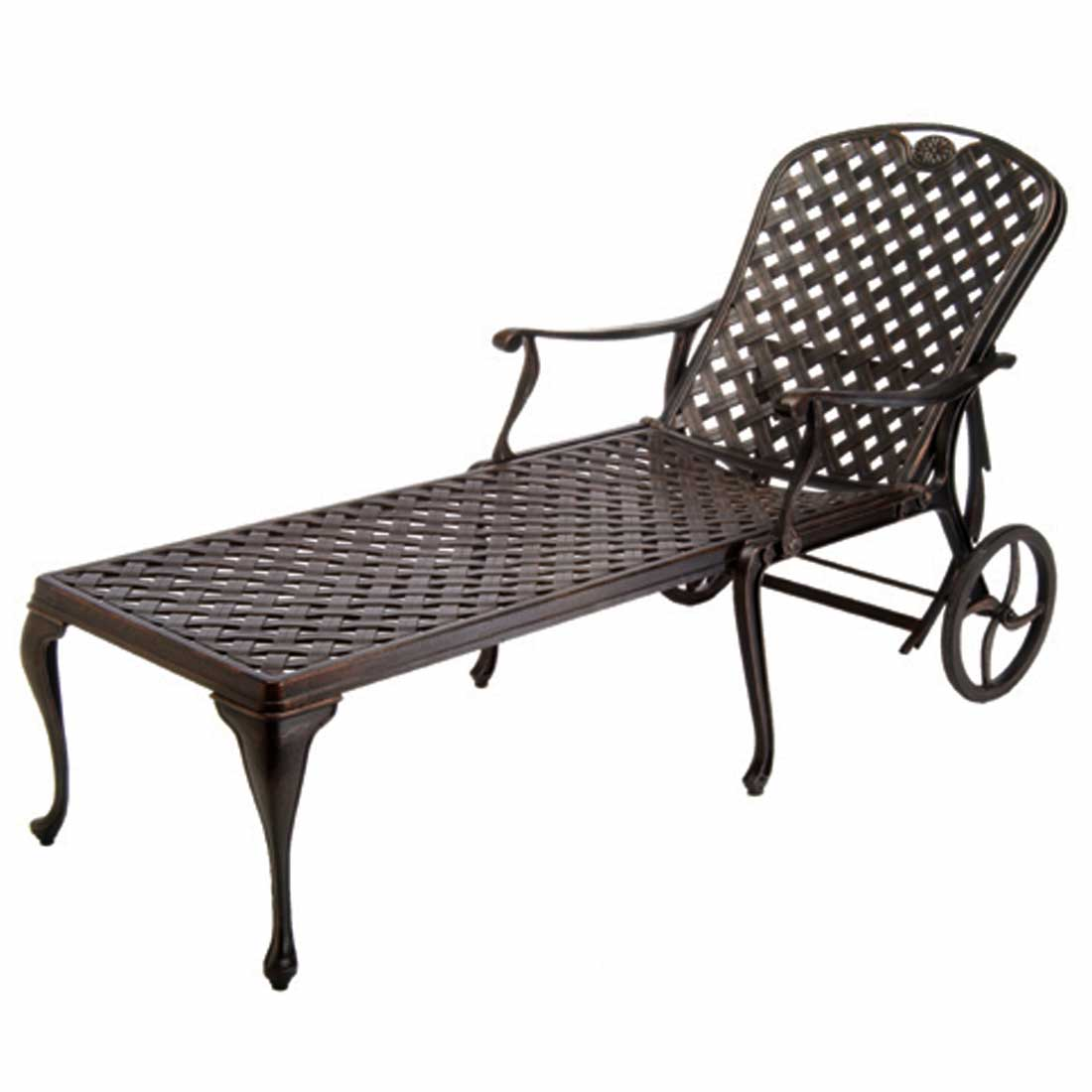 Provance Metal Chaise Lounge Chairs