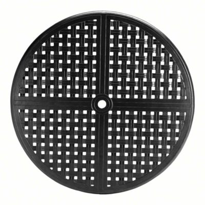"Double Lattice 42"" Round Table Top (HOLE)"