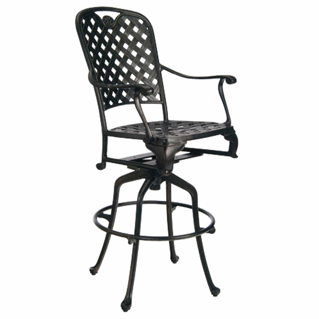 provance 30 outdoor swivel bar stool