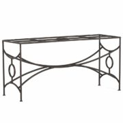 Trestle Iron Dining Table Base