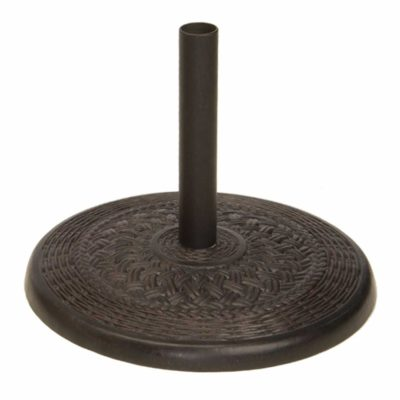 Cast Wicker Aluminum Umbrella Base