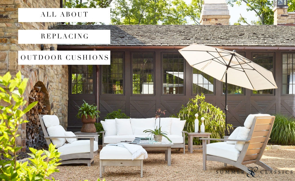 The Easiest Way To Update A Patio Outdoor Replacement Cushions