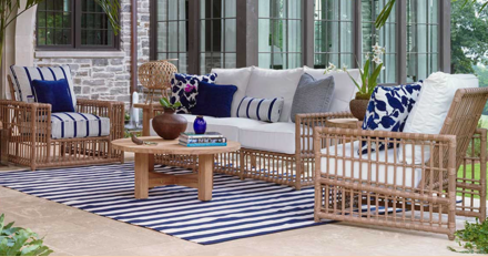 Design Your Outdoor Space with Wicker