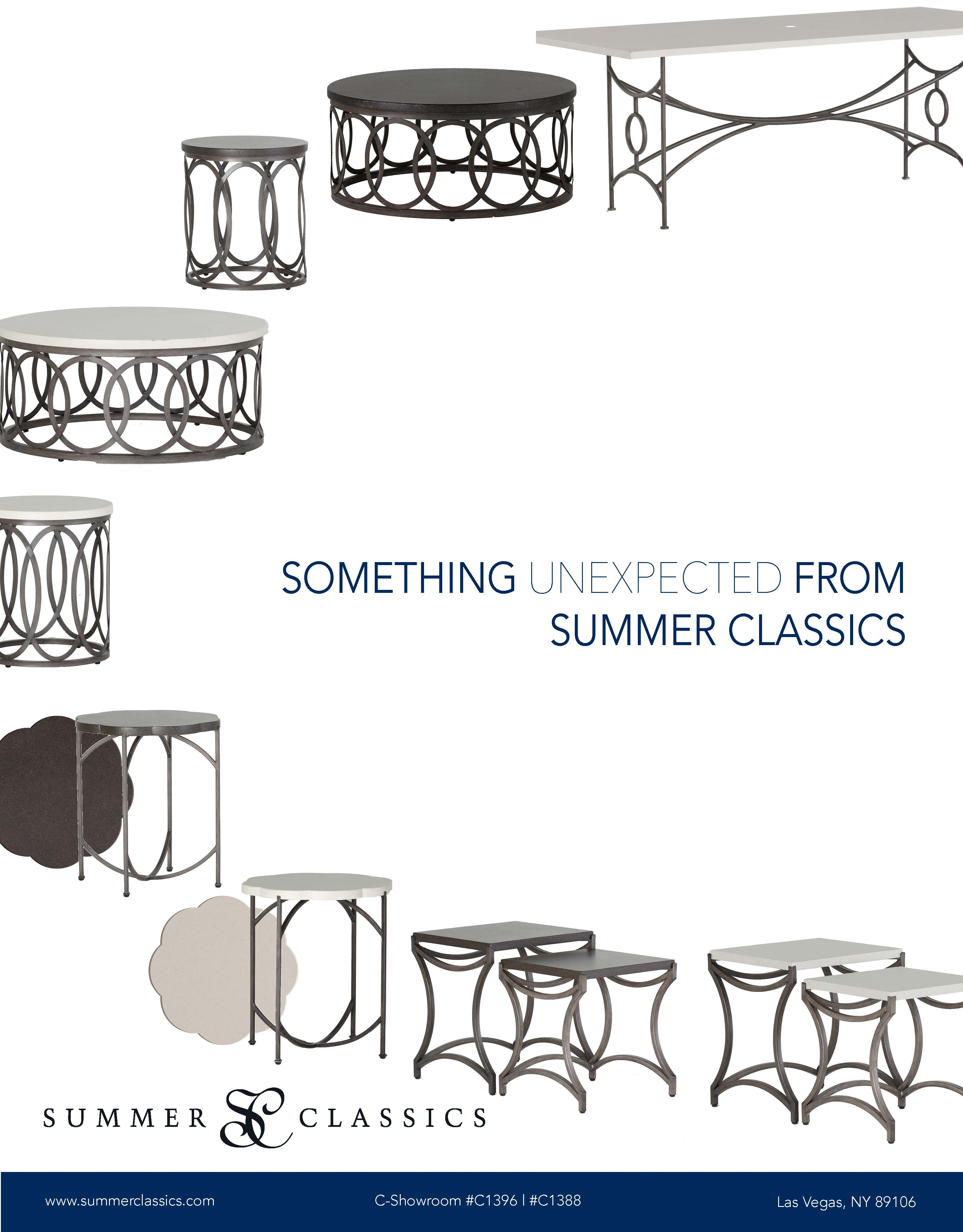 Something Unexpected Form Summer Classics Outdoor Furniture