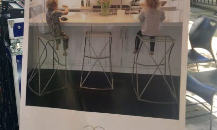 Gabby Acrylic Bar Stools Add Style to Tastemaker Panel