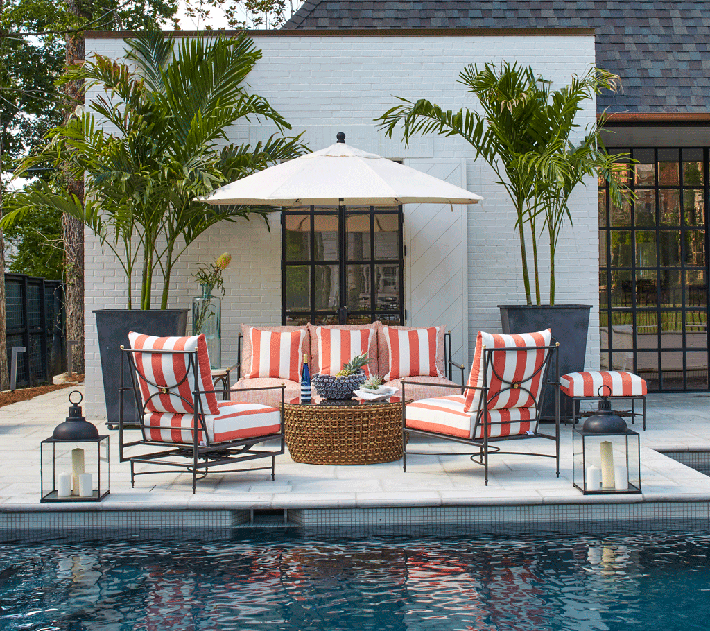 15 Patio Decorating Ideas for Every Outdoor Style - Summer ... on Patio Cover Decorating Ideas id=36403
