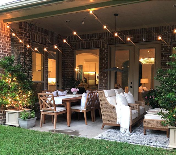 How To Hang Outdoor String Lights A