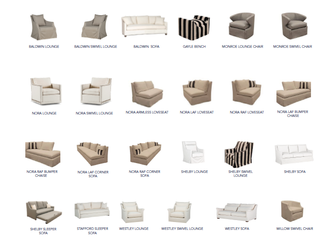 Outdoor Upholstery Furniture