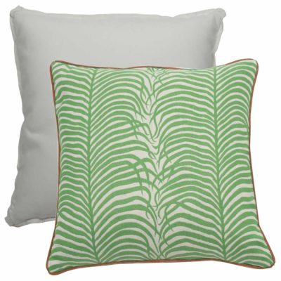 Emerald With Linen Snow Backing And Waylan Ultrafabric Welt