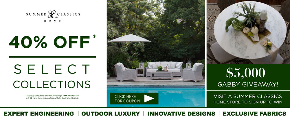 Summer Classics Home Raleigh - Luxury Outdoor Furniture Raleigh, NC