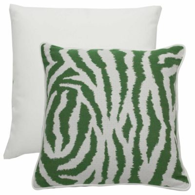 Emerald With Linen Snow Backing And Polar Ultrafabric Welt
