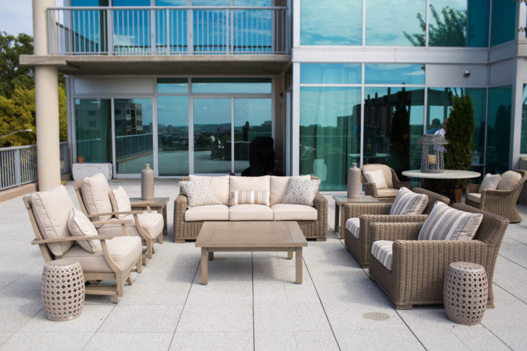 Amazing Rooftop Furniture Before After Rooftop Makeover By Home Interior And Landscaping Ologienasavecom