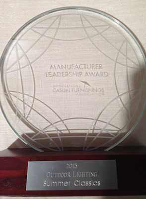 Summer Classics Wins 2013 ICFA Manufacturer Leadership Award