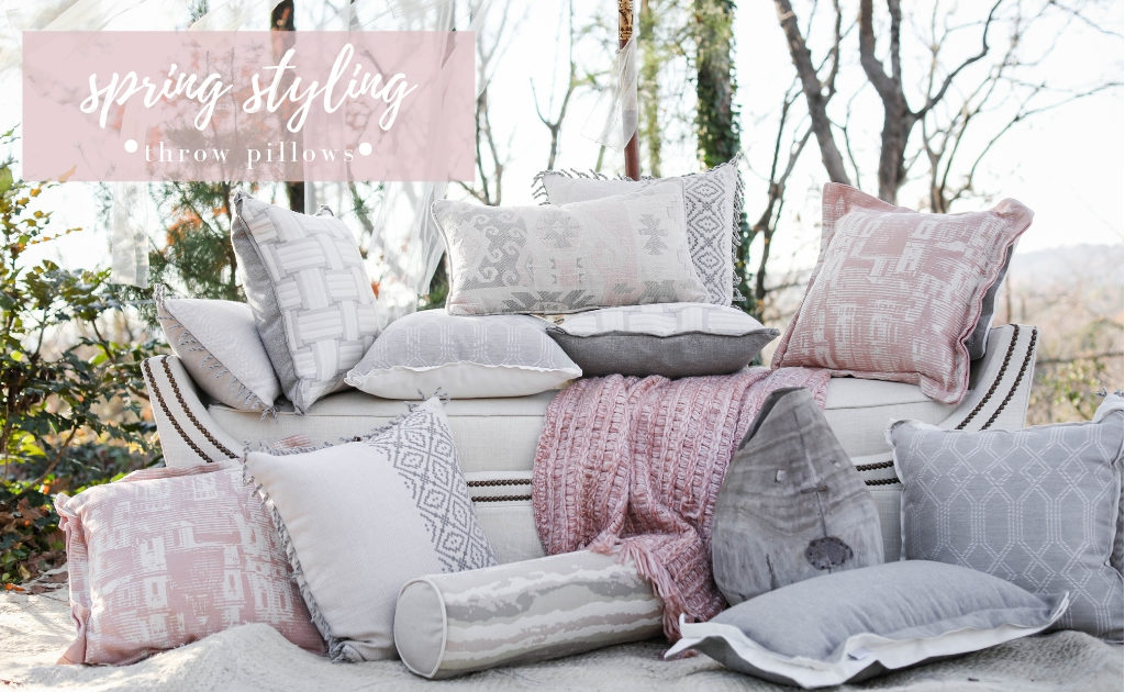 Image of: Spring Styling Decorative Throw Pillows Summer Classics
